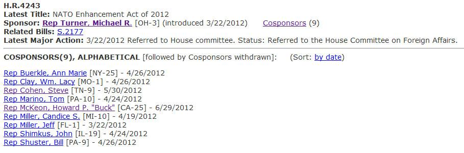 congressmen Πάτωσε το caucus των Σκοπιανών στο Αμερικανικό Κογκρέσο !!!
