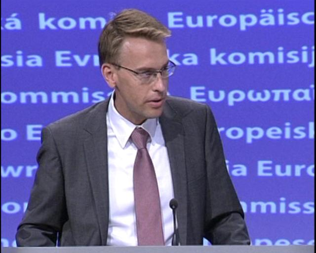 Peter Stano Άδειασε πάλι η Ευρωπαϊκή Ένωση τον Ιβάνοφ και τα Σκόπια