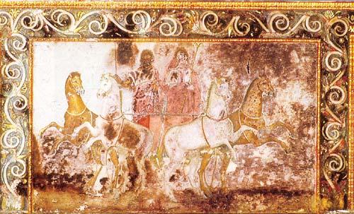 vergeur4 O Tάφος της Ευρυδίκης ή Τάφος του Θρόνου στις Αιγές