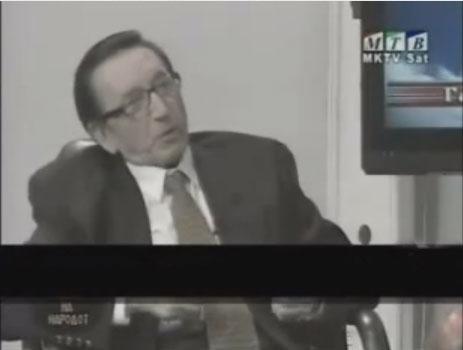 """Σκοπιανός """"Ακαδημαϊκός"""" στην τηλεόραση των Σκοπίων : Οι Έλληνες μας έκλεψαν τους Ολυμπιακούς Αγώνες και η Ακρόπολη κτίστηκε από… Πρωτοσλάβους !!!"""