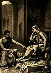 Aristotle tutoring Alexander by Jean Leon Gerome Ferris 209x300 Θεσσαλονίκη Μέγας Αλέξανδρος: Ο στρατηλάτης με... μάστερ στα οικονομικά