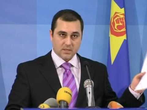 "FYROM's Opposition MP Igor Ivanovski (SDSM) Criticizes Cost of ""Antiquization"", 2012"