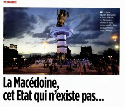 lepointmac Le Points FYROM Does Not Exist Article Sparks Hysteria in Skopje