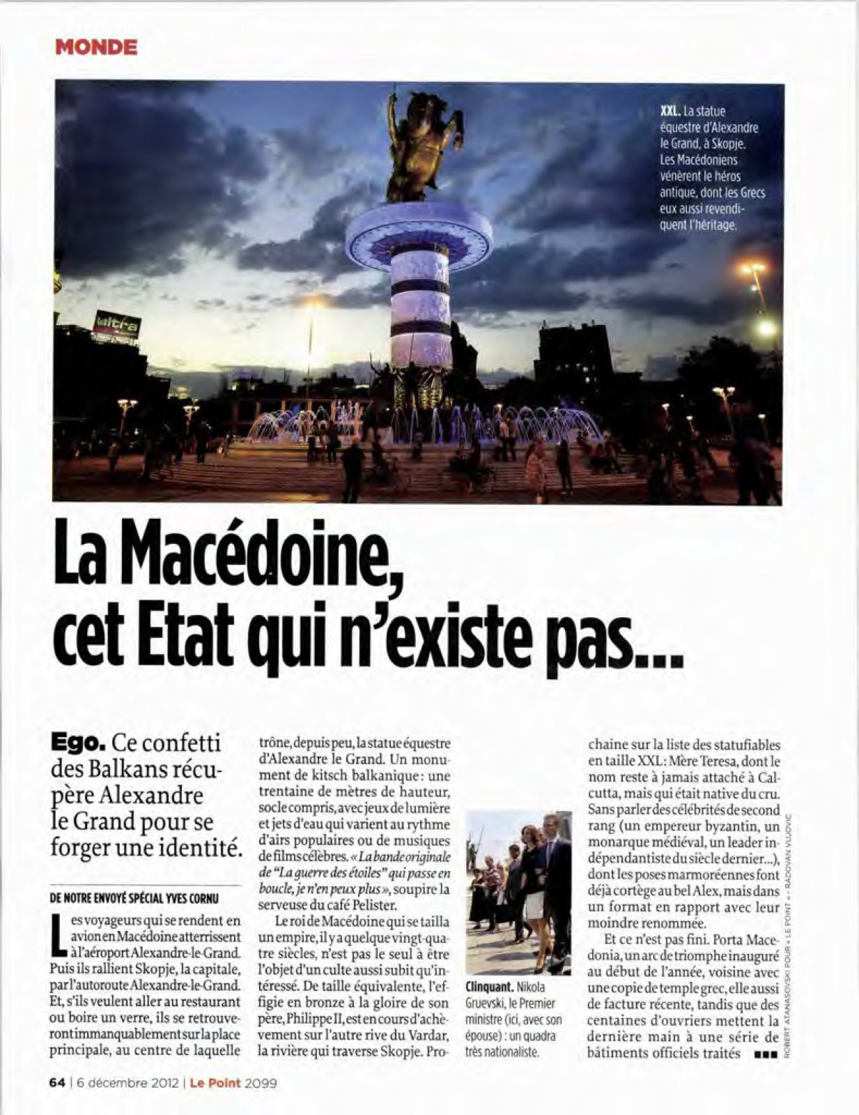 """History Of Macedonia – Le Point's FYROM """"Does Not Exist ... - photo#35"""