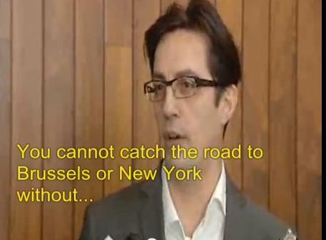 pendarovski Prof. Stevo Pendarovski Gives an Opinion on FYROM Crisis (27 XII 2012)