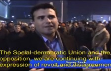 Zoran Zaev, the Mayor of Strumica, Calls Citizens to Act Against Dictatorship in FYROM (02-I-2012)