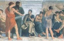 Gustav Adolph Spangenberg Die Schule des Aristoteles 1828 18911 225x145 «Ντιμπέιτ» με τους πολιτικούς της αρχαιότητας