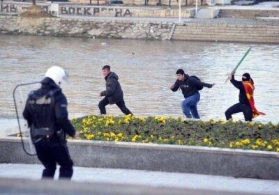 Νέα εθνοτικά επεισόδια στα Σκόπια