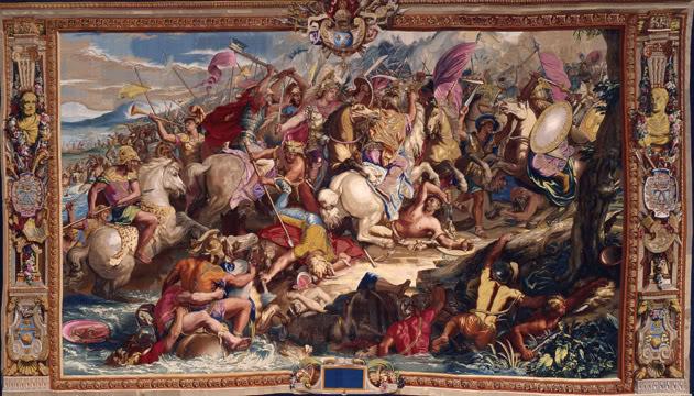 Ο Μέγας Αλέξανδρος στο παλάτι των Βερσαλλιών