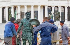 Οι Σκοπιανοί ανεγείρουν αγάλματα των σπουδαιότερων Βασιλέων της Μακεδονίας
