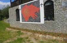 """Nέες Προκλήσεις – Μοναστήρι των Σκοπίων με αλυτρωτικό χάρτη της """"Ενωμένης Μακεδονίας"""""""