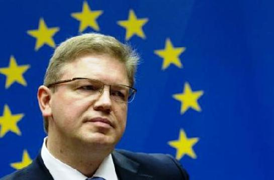 stefan fule Σκόπια : Ο Επίτροπος Στ.Φούλε χαιρέτισε την έγκριση του πορίσματος της επιτροπής για τα επεισόδια στη Βουλή, στα τέλη Δεκεμβρίου του 2012