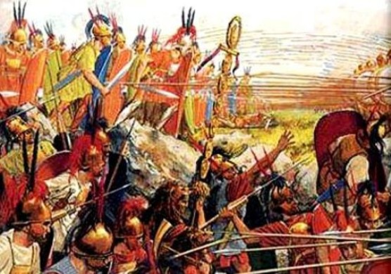 Η μάχη της Πύδνας   , 22 Ιουνίου  168 π.Χ.