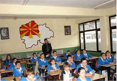 Political Indoctrination Of Children Aged 2-6 Years Old In FYROM