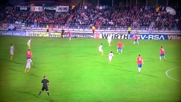 Σκόπια : Εφιάλτης δίχως τέλος η συντριβή με 5-1 από την Σερβία !!