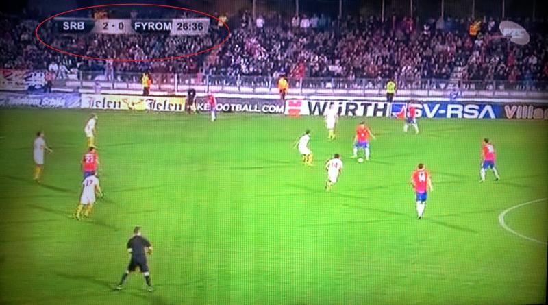 serbian tv fyrom Σκόπια : Εφιάλτης δίχως τέλος η συντριβή με 5 1 από την Σερβία !!