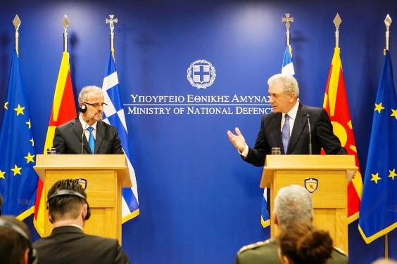 YPETHA ΥΠΕΘΑ : Δηλώσεις  Δ. Αβραμόπουλου και  T. Xhaferi μετά τη συνάντησή τους