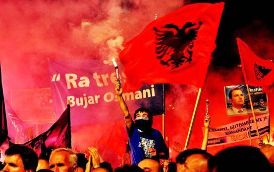 ALBANIANS FYROM Πιθανή αστάθεια στα δυτικά Βαλκάνια με επίκεντρο την ΠΓΔΜ ανησυχεί την NSA