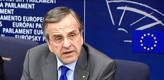 ΒΙΝΤΕΟ-Η απάντηση του Σαμαρά στον Σκοπιανό δημοσιογράφο