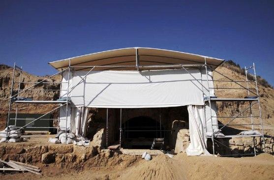 19 ΥΠΠΟΑ: Συνέχιση ανασκαφικών εργασιών στον Τύμβο Καστά στην Αμφίπολη