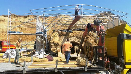 8 ΥΠΠΟΑ: Συνέχιση ανασκαφικών εργασιών στον Τύμβο Καστά στην Αμφίπολη