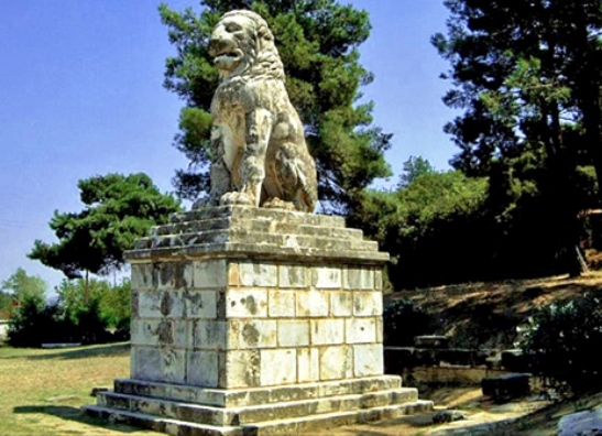 Lion of Amphipolis1 Samaras expects exceptionally important find at Ancient Amphipolis