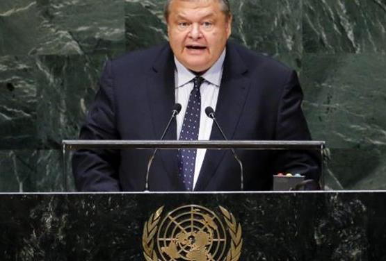 ΥΠΕΞ: Ομιλία  Ευ. Βενιζέλου στην Ολομέλεια της 69ης Γενικής Συνέλευσης του ΟΗΕ