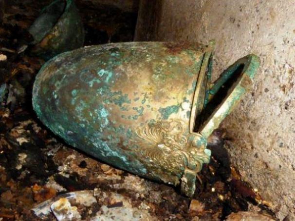 ΦΩΤΟ:Ευρήματα από τον νέο ασύλητο τάφο που βρέθηκε στη Βεργίνα