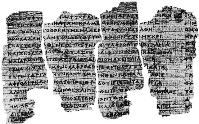 p derveni Το αρχαιότερο «βιβλίο» της Ευρώπης, υποψήφιο για εγγραφή στον Κατάλογο της UNESCO