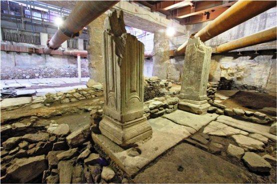 U Thessaloniki Θεσσαλονίκη : Υπέρ της μελέτης για την ανάδειξη των αρχαιοτήτων στο σταθμό «Βενιζέλου» του  Μετρό γνωμοδότησε το ΚΑΣ