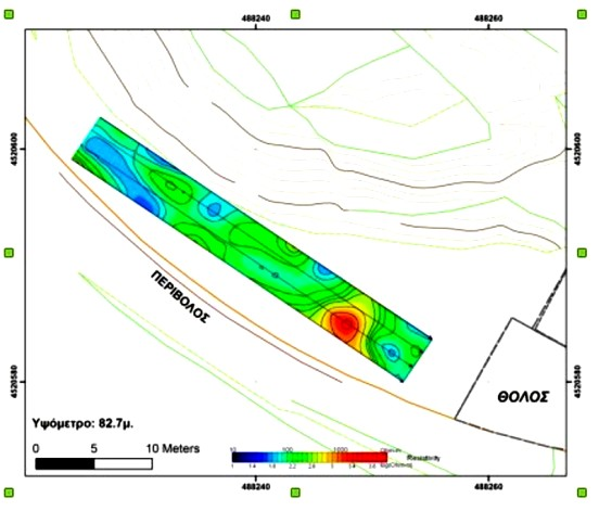 105 Kasta ΥΠΠΟΑ: Νέα ενημέρωση για τη γεωφυσική διασκόπηση και τη γεωλογική χαρτογράφηση του λόφου Καστά