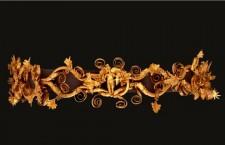 """Αρχαιολογικό Μουσείο Αιανής : """"Χρυσοί στέφανοι εκ  Μακεδονίας"""""""