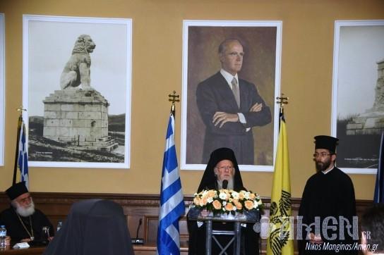 Ο Οικουμενικός Πατριάρχης στην Αμφίπολη