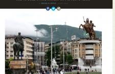 Ιστοσελίδα «κράζει» το κιτς στα Σκόπια: Πώς να χτίσετε μια ψεύτικη αρχαία πόλη σε 5 χρόνια