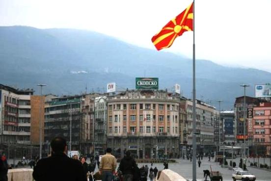 Συγκρούσεις στα Σκόπια μεταξύ πολιτών, αστυνομίας