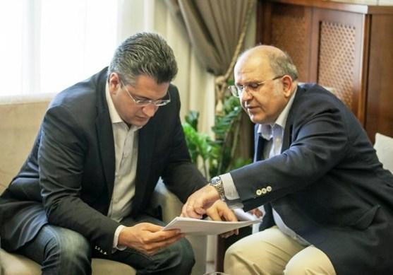 Συνάντηση του Περιφερειάρχη Κεντρικής Μακεδονίας Α.Τζιτζικώστα με τον Αναπληρωτή Υπουργό Πολιτισμού Ν. Ξυδάκη