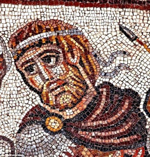 Ισραήλ: Περίτεχνο ψηφιδωτό του Μεγάλου Αλεξάνδρου σε αρχαία συναγωγή