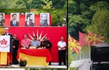 Νέα φιέστα Μιλόσοσκι με ντεκόρ την «Μεγάλη Μακεδονία»