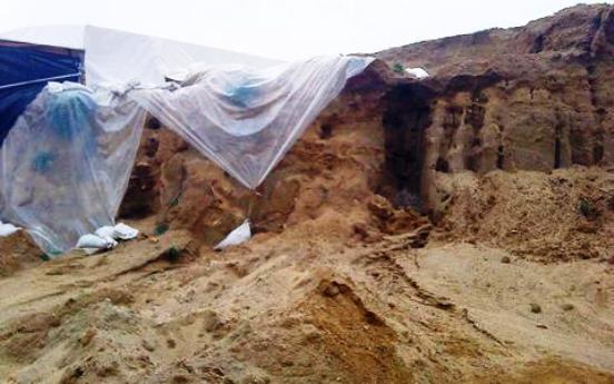 Amphipoli Αμφίπολη : Έργα για να προλάβουν τον χειμώνα