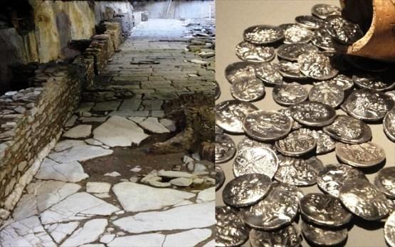 arxaious emporikous dromous xartografoun ta nomismata pou irthan sto fos Μετρό Θεσσαλονίκης: Αρχαίους εμπορικούς δρόμους «χαρτογραφούν» τα νομίσματα που ήρθαν στο φως