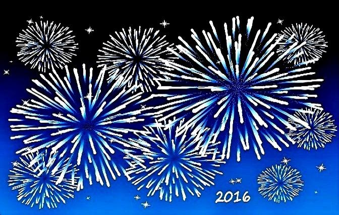 2016 - Frohes neues Jahr!