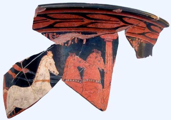 Pella 2 Ο Πέλοπας σε αγγείο 2.500 ετών