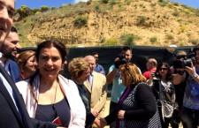 ΥΠΠΟΑ : Επίσκεψη της Υπουργού Πολιτισμού και Aθλητισμού Λυδίας Κονιόρδου στην Αμφίπολη