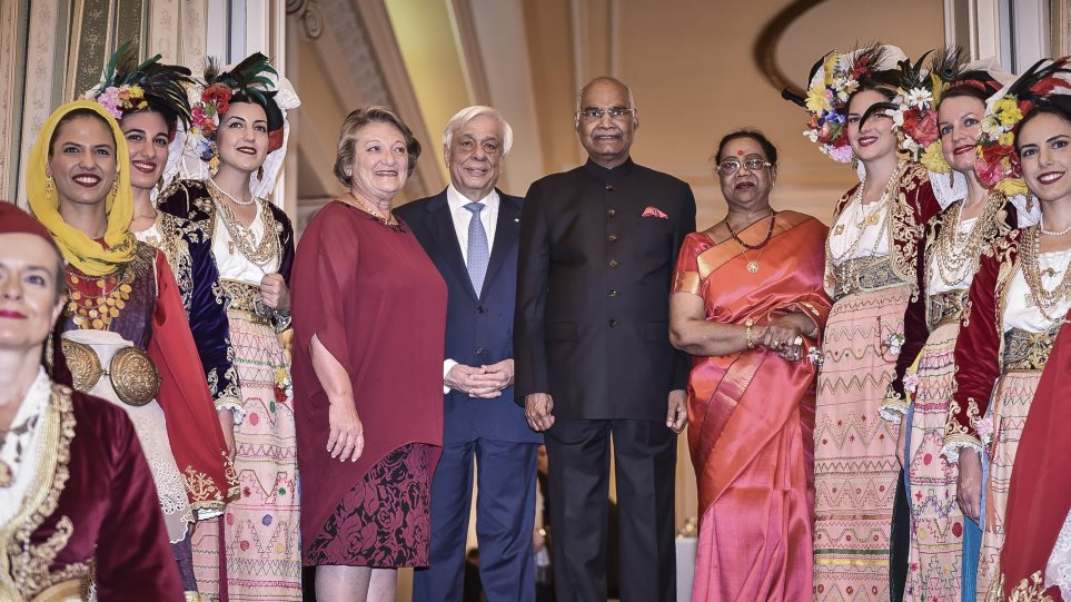 Πρόεδρος Ινδίας: Ο διασημότερος Έλληνας στην Ινδία είναι ο Μέγας Αλέξανδρος