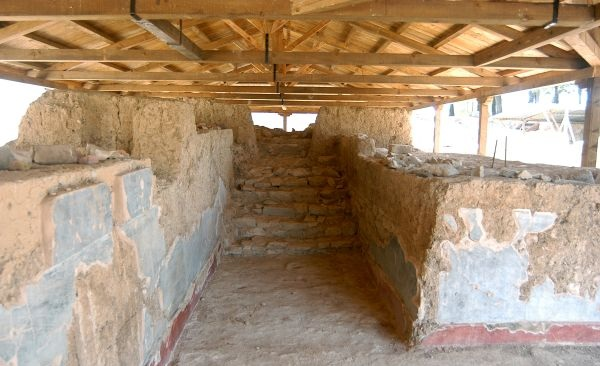 Μακεδονική σφραγίδα στον αρχαιολογικό χώρο στην είσοδο του Βόλου