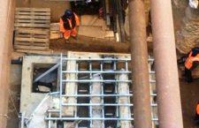 Μετρό Θεσσαλονίκης: Σήκωσαν ρωμαϊκό λουτρό 50 τόνων του 400 μ.Χ. (pics-vid)