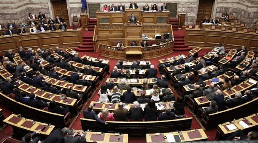 """Με 153 """"ναι"""" πέρασε από τη Βουλή η Συμφωνία των Πρεσπών"""