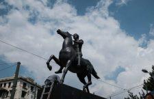 Η ιστορία του έφιππου Μ. Αλέξανδρου που κοσμεί την Αμαλίας